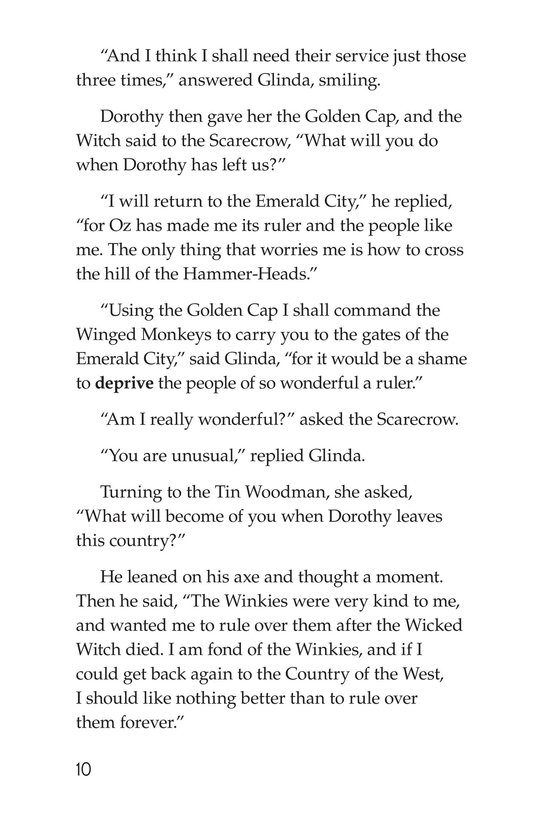 Book Preview For The Wonderful Wizard of Oz (Part 12) Page 10