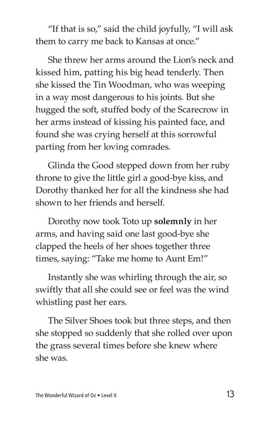 Book Preview For The Wonderful Wizard of Oz (Part 12) Page 13