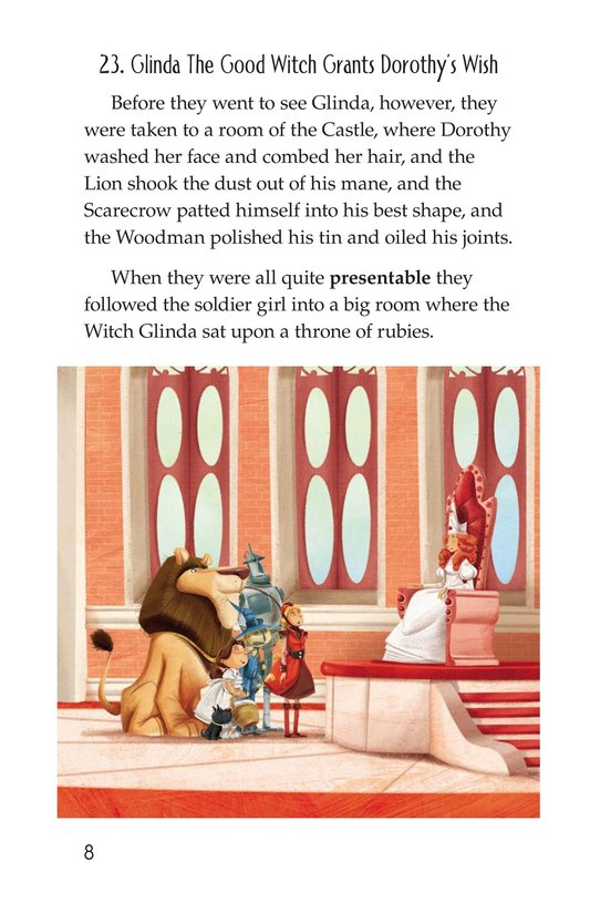 Book Preview For The Wonderful Wizard of Oz (Part 12) Page 8