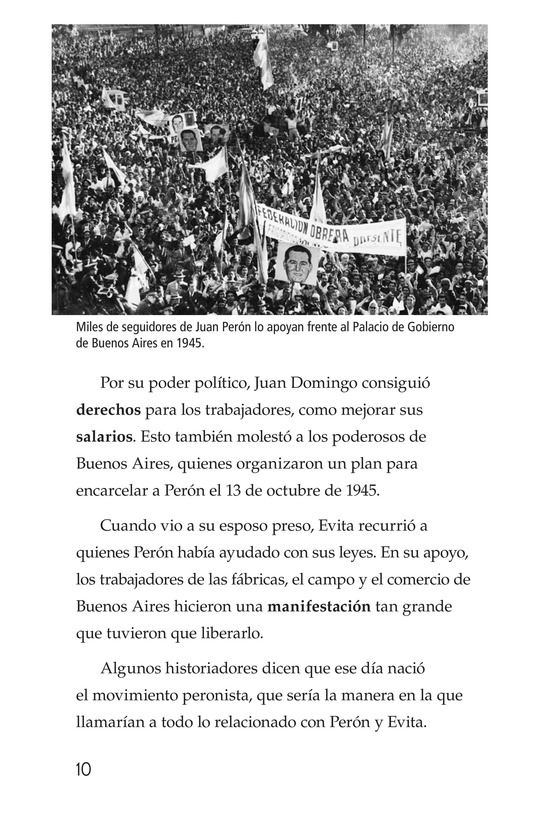 Book Preview For Evita Page 10