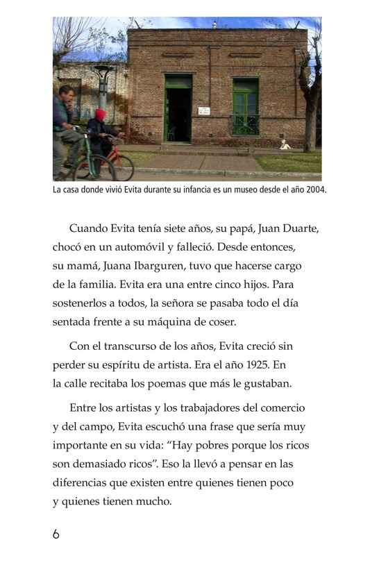 Book Preview For Evita Page 6
