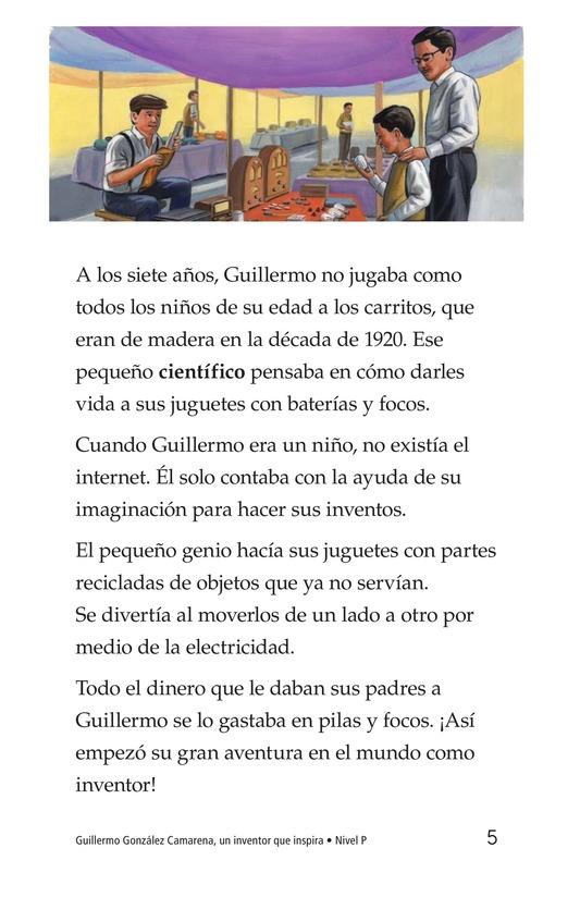 Book Preview For Guillermo González Camarena, un inventor que inspira Page 5