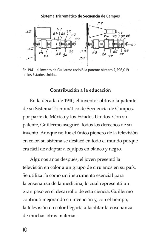 Book Preview For Guillermo González Camarena, un inventor que inspira Page 10