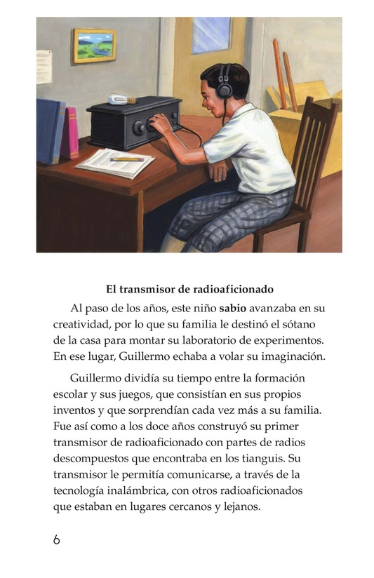 Book Preview For Guillermo González Camarena, un inventor que inspira Page 6