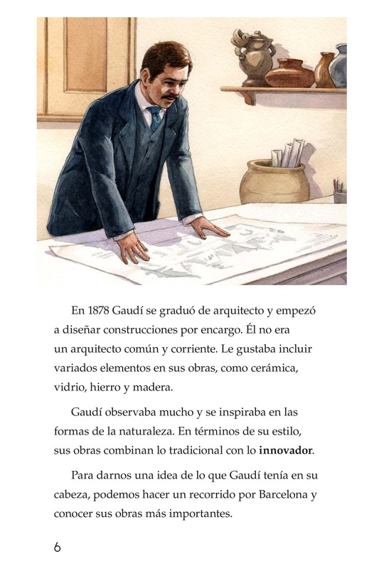 Book Preview For Antoni Gaudí, un genio de la arquitectura Page 6
