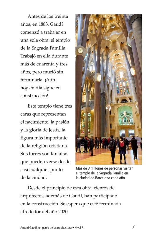 Book Preview For Antoni Gaudí, un genio de la arquitectura Page 7