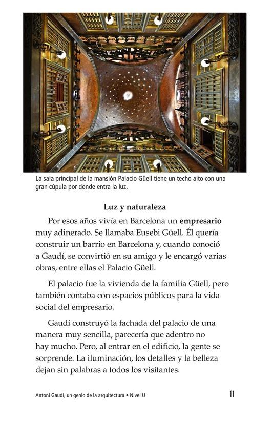 Book Preview For Antoni Gaudí, un genio de la arquitectura Page 11