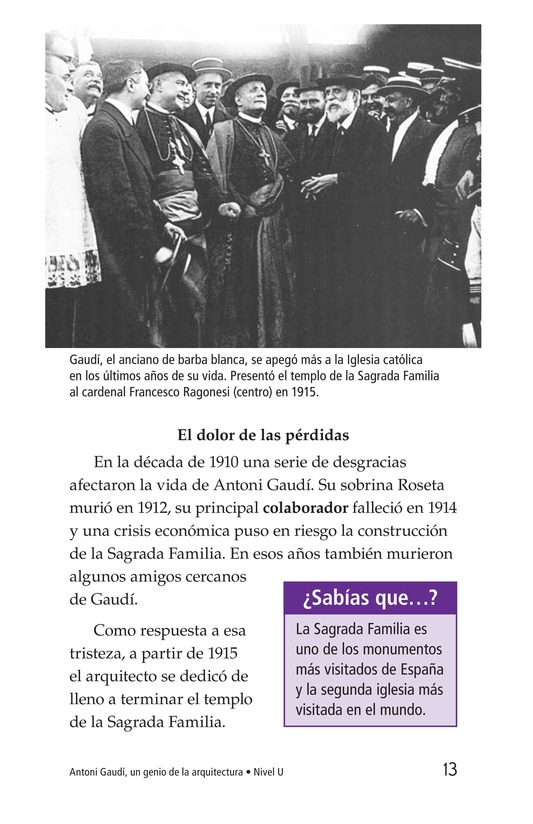 Book Preview For Antoni Gaudí, un genio de la arquitectura Page 13