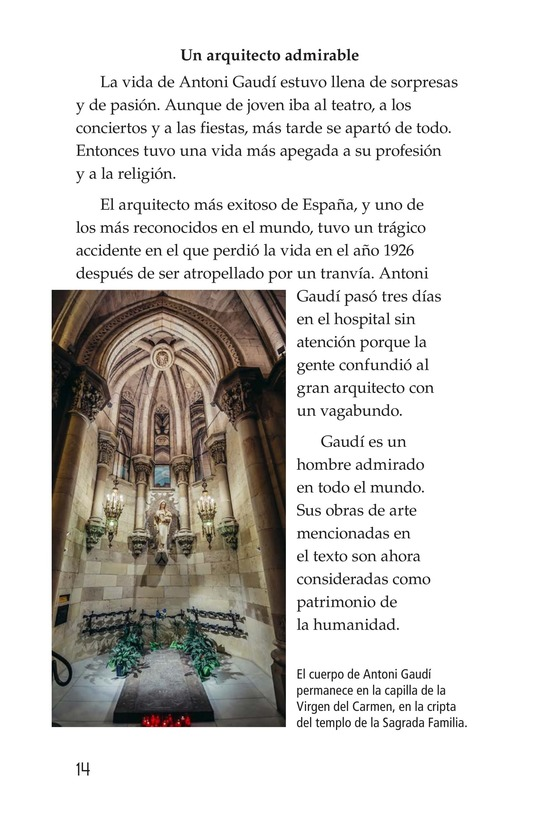 Book Preview For Antoni Gaudí, un genio de la arquitectura Page 14