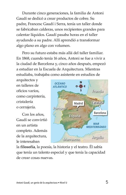 Book Preview For Antoni Gaudí, un genio de la arquitectura Page 5