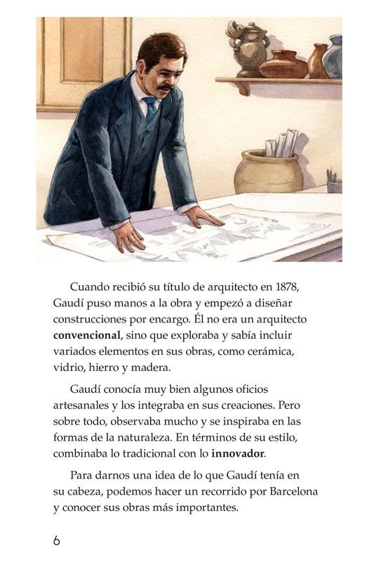 Book Preview For Antoni Gaudí, un genio de la arquitectura Page 6