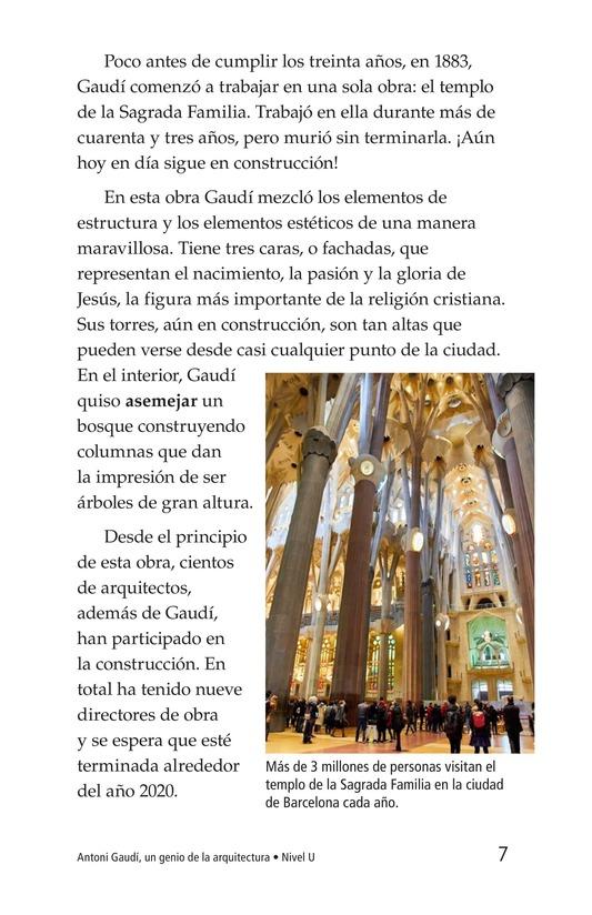 Book Preview For Antoni Gaudí, un genio de la arquitectura Page 7