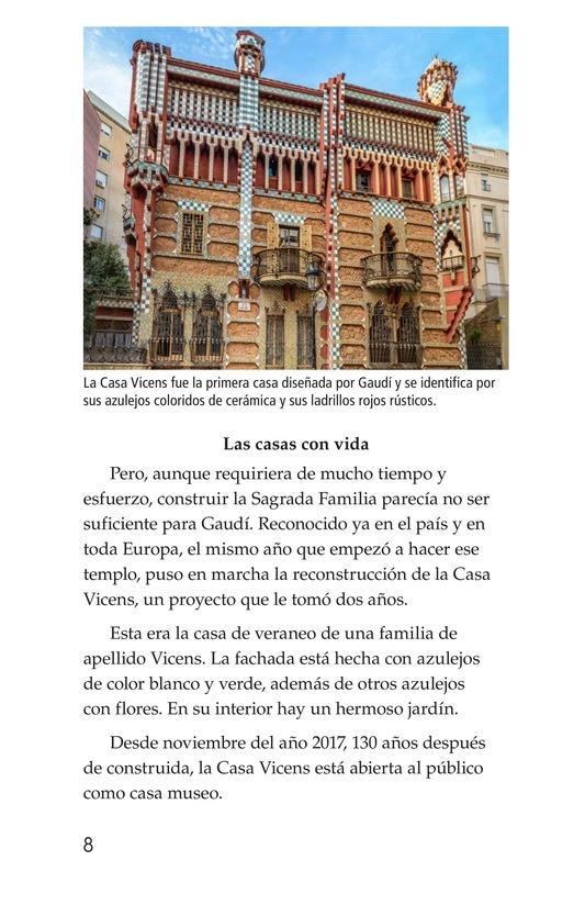 Book Preview For Antoni Gaudí, un genio de la arquitectura Page 8