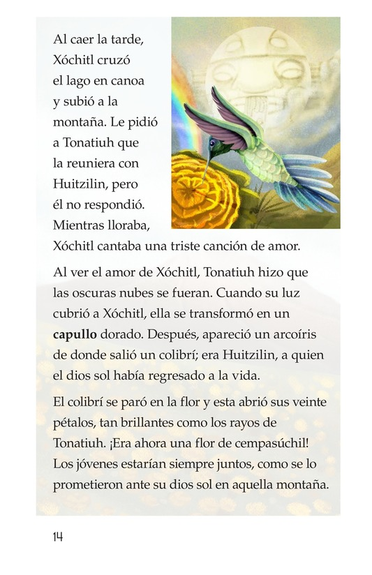 Book Preview For La flor del amor eterno Page 14