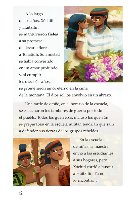 Book Preview For La flor del amor eterno Page 12