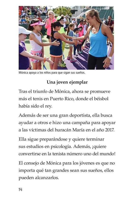 Book Preview For La campeona de la Isla del Encanto, Mónica Puig Page 14