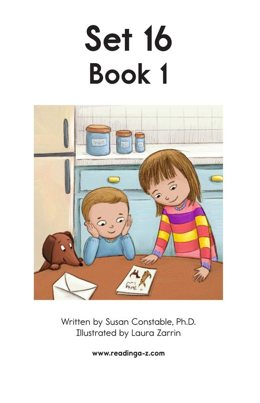 Book Preview For Decodable Passages Set 16 Book 1 Page 2