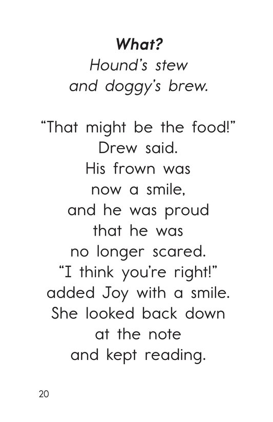 Book Preview For Decodable Passages Set 16 Book 1 Page 20
