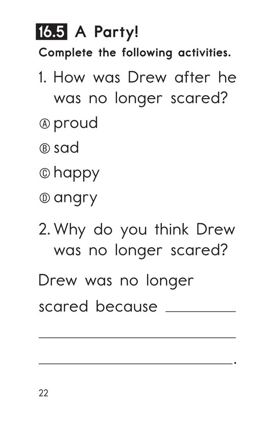 Book Preview For Decodable Passages Set 16 Book 1 Page 22