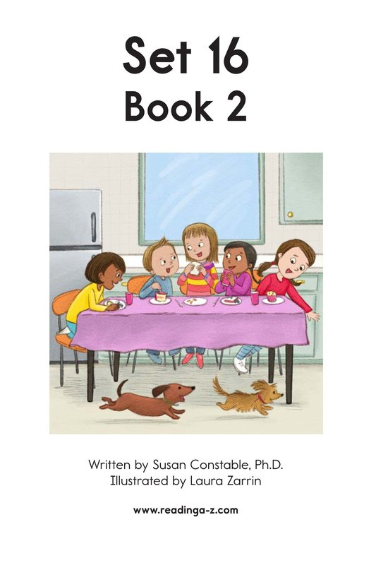 Book Preview For Decodable Passages Set 16 Book 2 Page 2