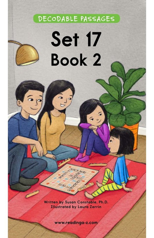 Book Preview For Decodable Passages Set 17 Book 2 Page 1