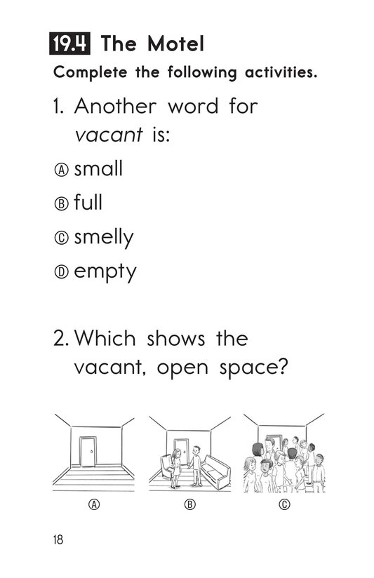 Book Preview For Decodable Passages Set 19 Book 1 Page 18