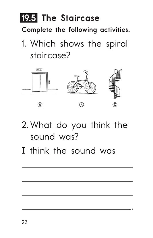 Book Preview For Decodable Passages Set 19 Book 1 Page 22
