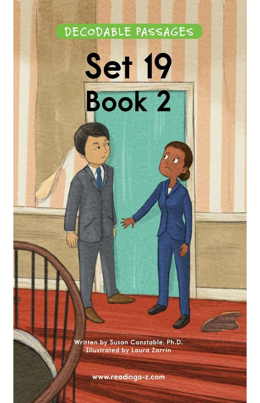 Book Preview For Decodable Passages Set 19 Book 2 Page 1