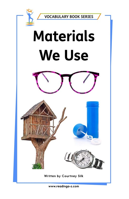 Book Preview For Materials We Use Page 1