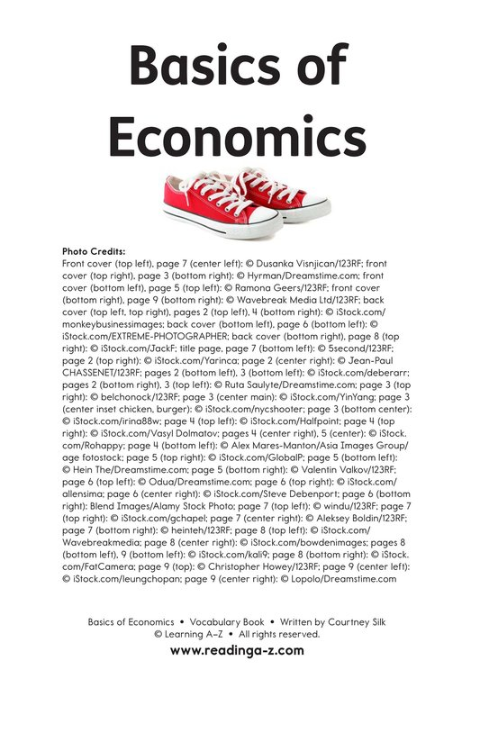 Book Preview For Basics of Economics Page 11