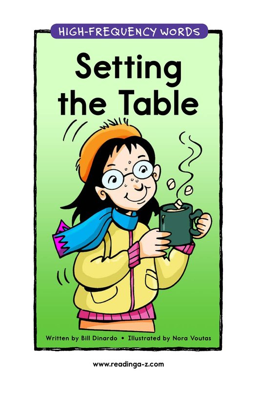 Book Preview For Setting the Table Page 1