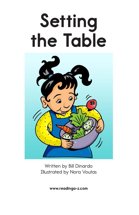 Book Preview For Setting the Table Page 2