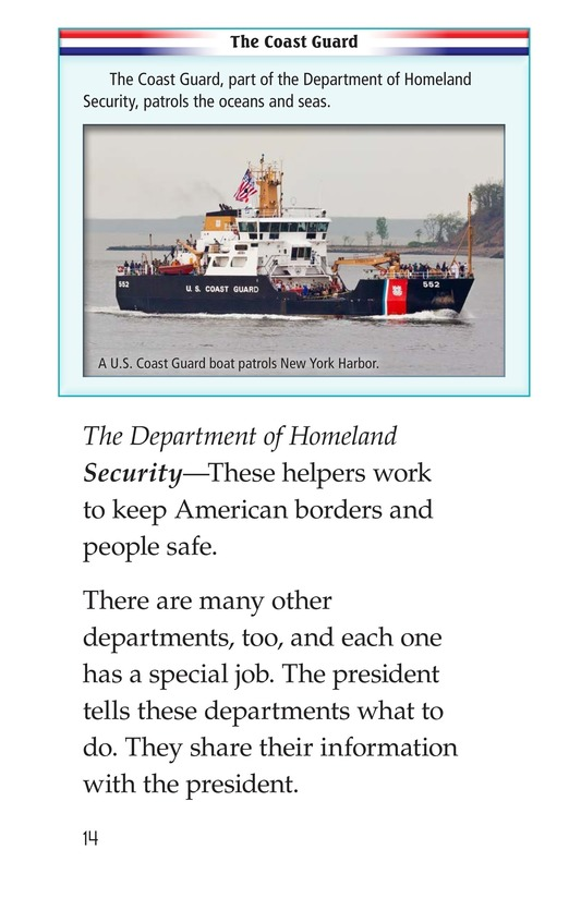 Book Preview For The U.S. Government At Work Page 14