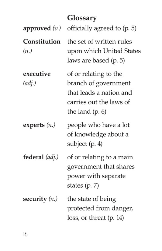 Book Preview For The U.S. Government At Work Page 16