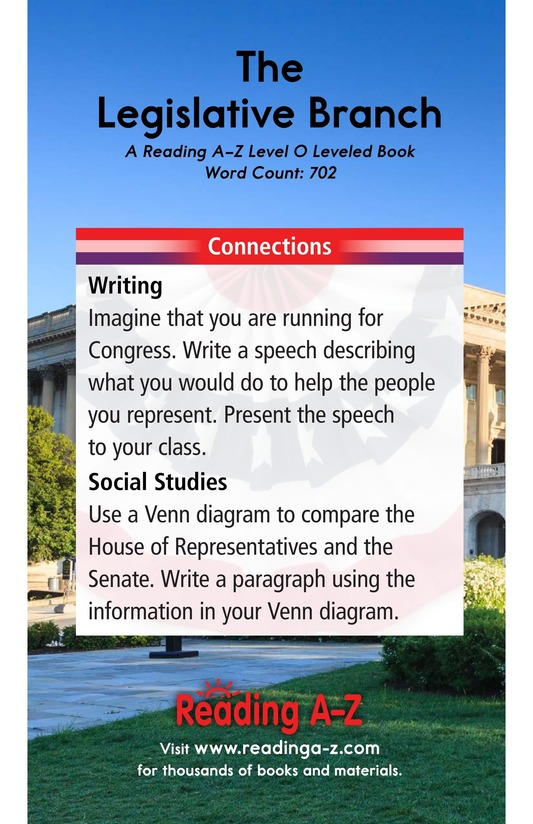 Book Preview For The Legislative Branch Page 17