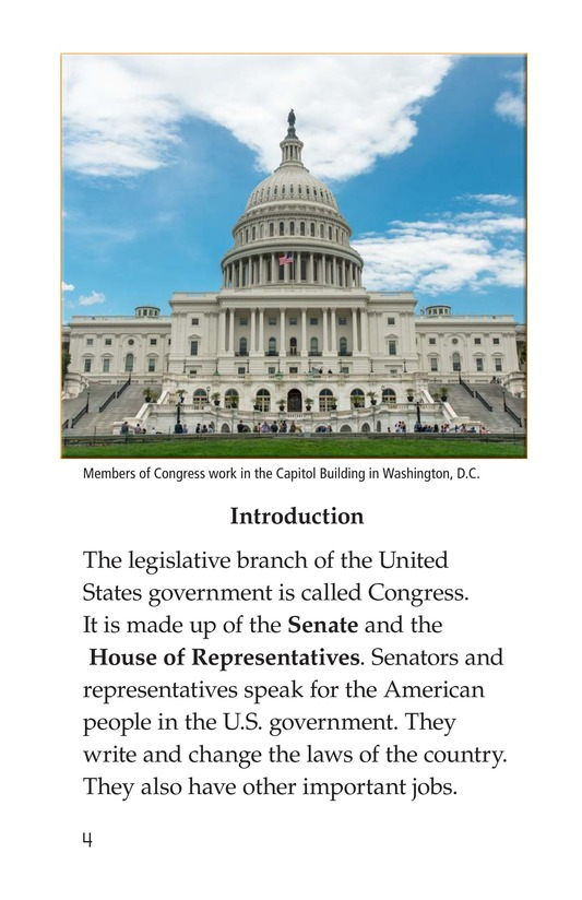 Book Preview For The Legislative Branch Page 4