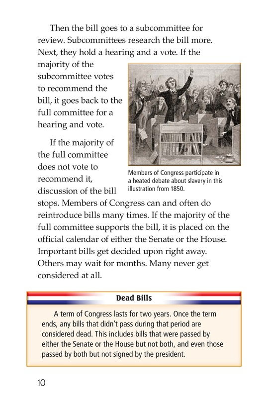 Book Preview For The Legislative Branch Page 10