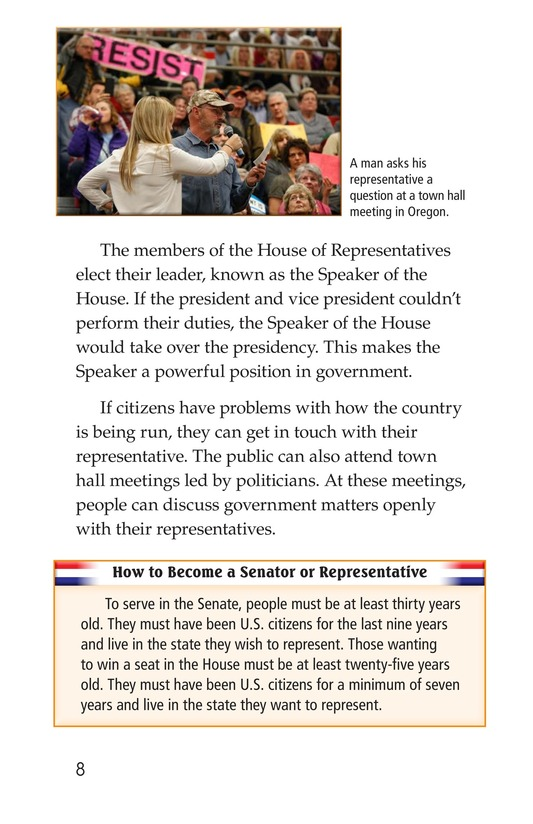 Book Preview For The Legislative Branch Page 8
