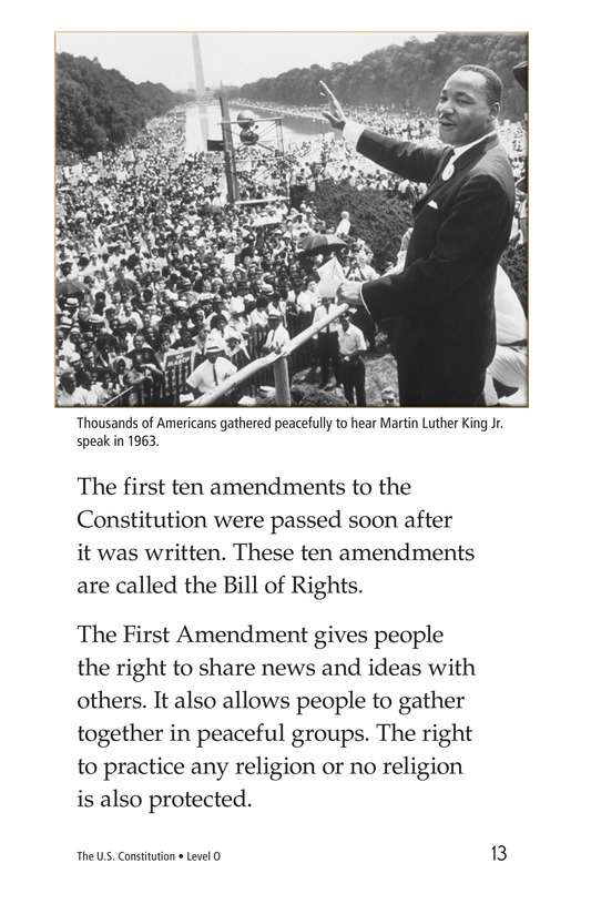 Book Preview For The U.S. Constitution Page 13