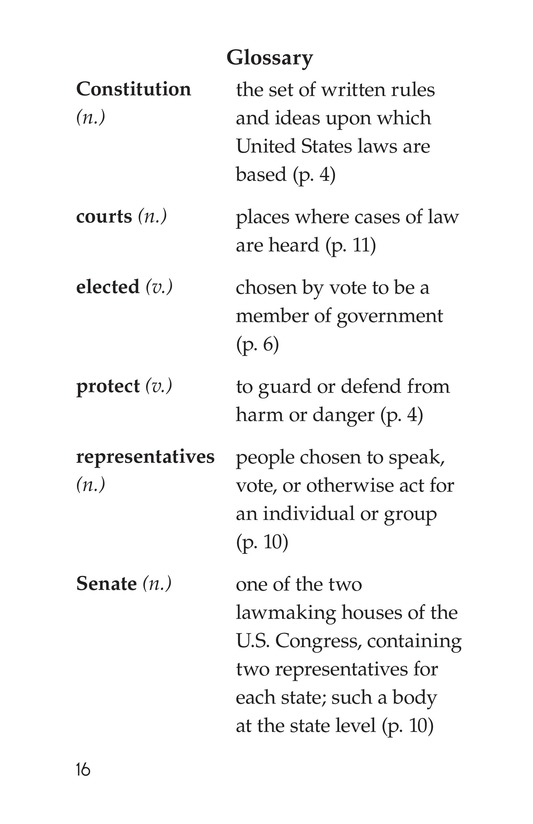 Book Preview For The U.S. Constitution Page 16