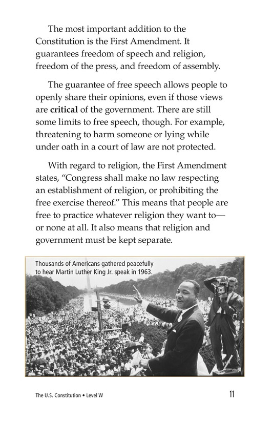 Book Preview For The U.S. Constitution Page 11