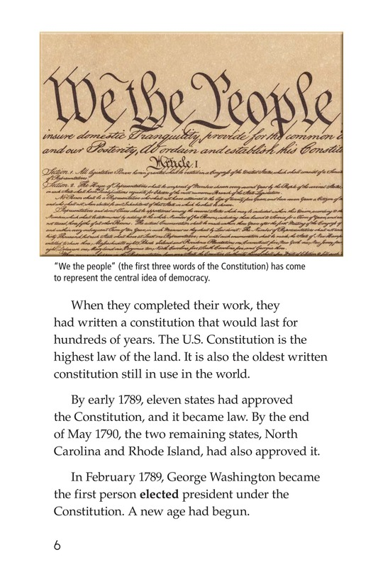 Book Preview For The U.S. Constitution Page 6