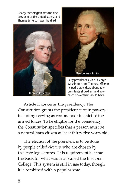 Book Preview For The U.S. Constitution Page 8