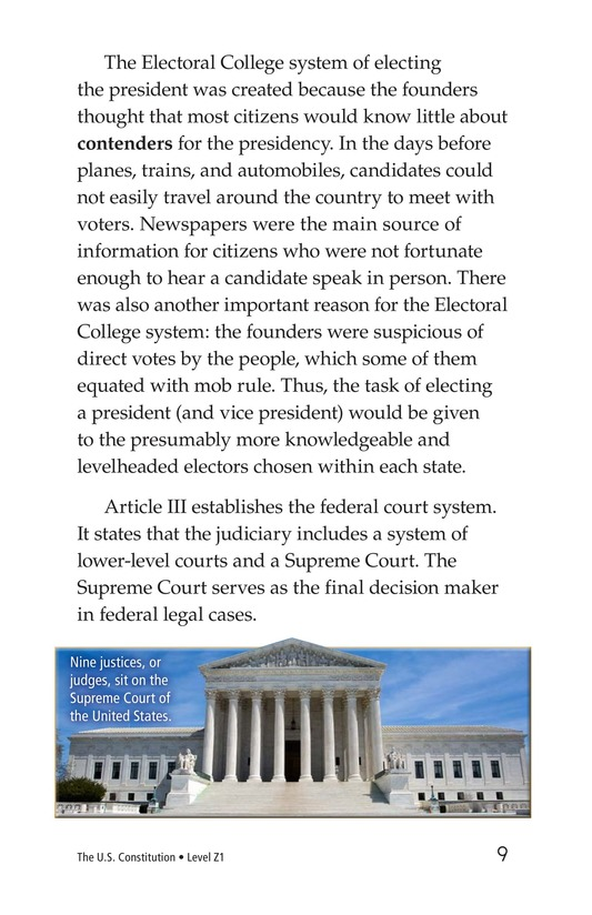 Book Preview For The U.S. Constitution Page 9