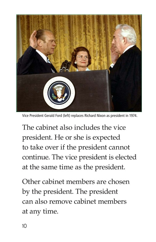 Book Preview For The Executive Branch Page 10