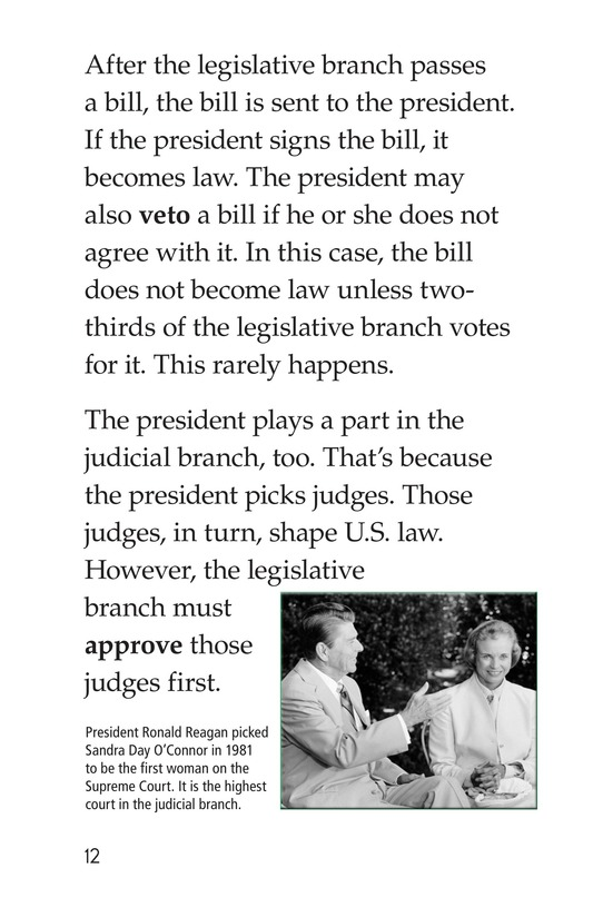 Book Preview For The Executive Branch Page 12
