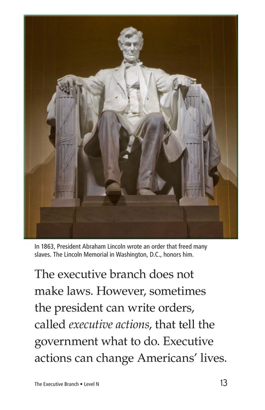 Book Preview For The Executive Branch Page 13