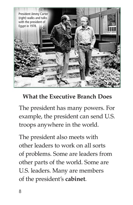 Book Preview For The Executive Branch Page 8