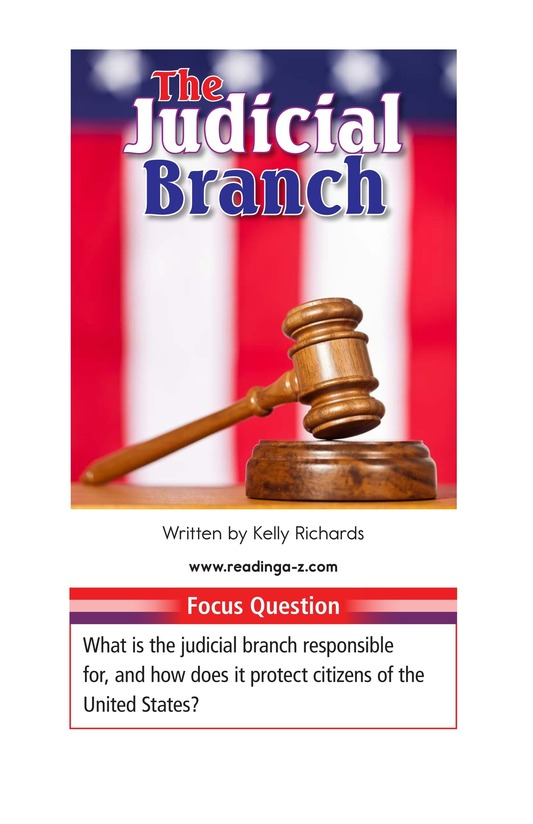 Book Preview For The Judicial Branch Page 1