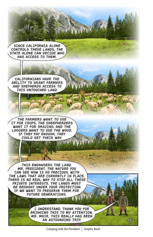 Book Preview For Camping with the President Page 12